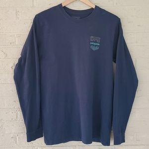 Vintage Patagonia Long Sleeved Shirt Sz Med